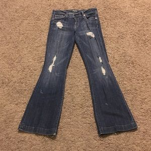 Fossil distressed jeans